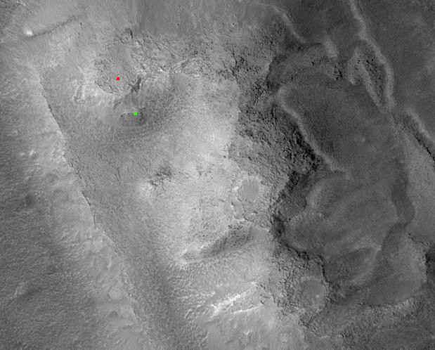 """Тайны знаменитого  """"лица на Марсе """" больше нет."""
